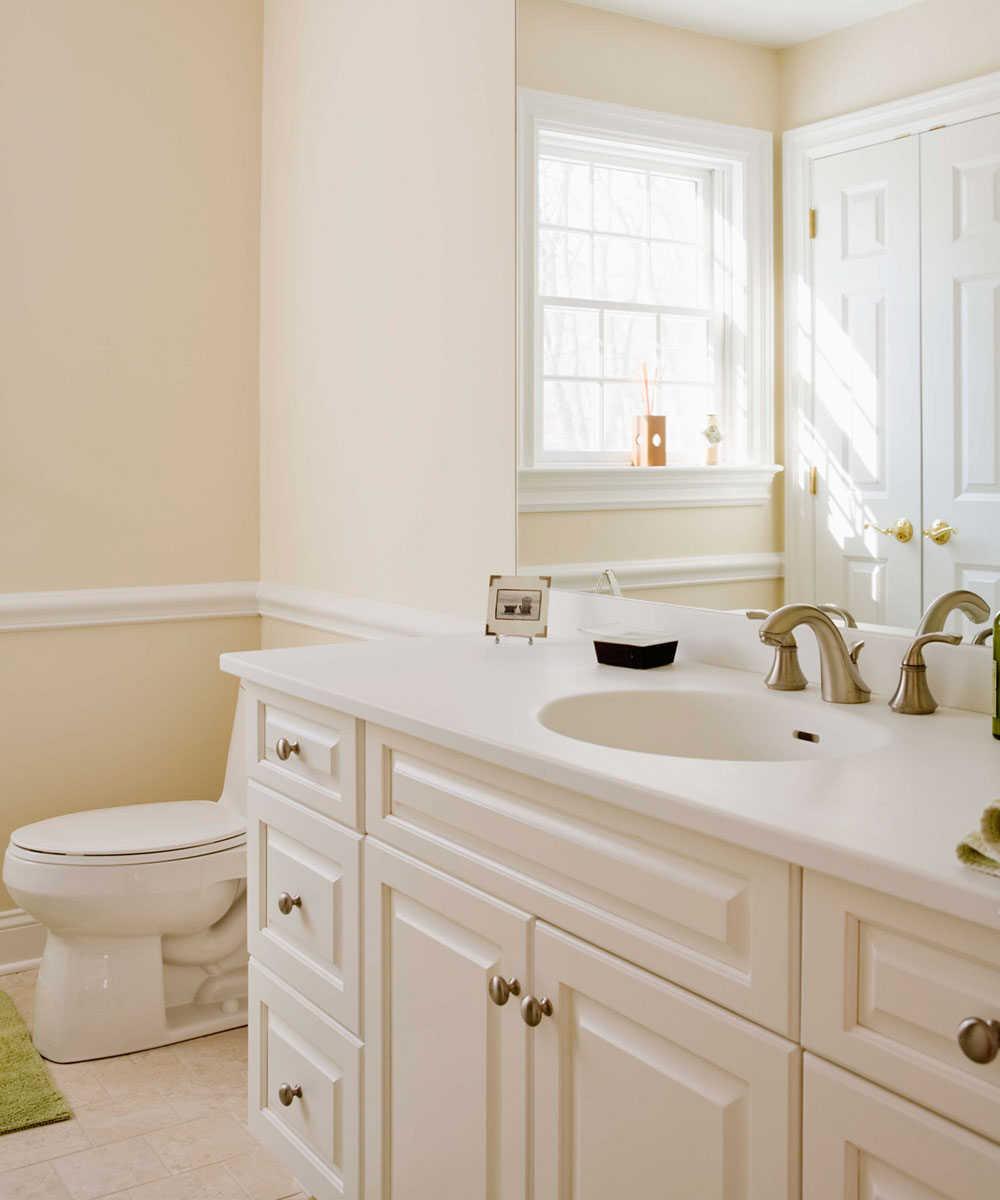 newely remodeled bathroom - Bathroom Remodel Return On Investment